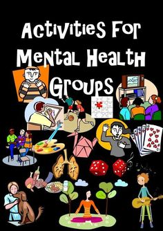Group Therapy Topics: Mental Health Educational Activities health activities health care health ideas health tips healthy meals Group Therapy Activities, Mental Health Activities, Mental Health Therapy, Mental Health Counseling, Group Counseling, Counseling Activities, Health Education, Educational Activities, School Counseling