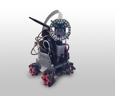 Do-it-yourself Autonomous Tiny Robot: 12 Steps (with Pictures) Build A Robot, Diy Robot, Robotics Projects, Arduino Projects, Iron Man Arc Reactor, Raspberry Pi 2, Robot Technology, Raspberry Pi Projects, Electrical Projects