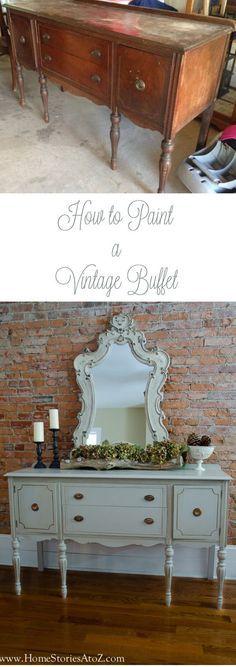 How to Chalk Paint Furniture   Pinterest   Chalk paint ...