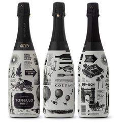 10 Cool Champagne Bottle Labels