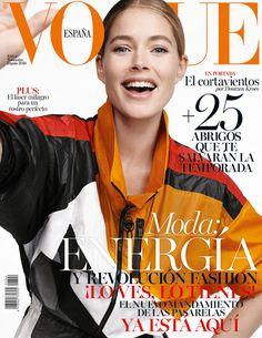 Doutzen Kroes by Benny Horne for Vogue Spain November 2016 Cover