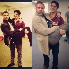 6 years later • Jr Bourne & Tyler Posey BTS