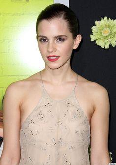 Emma Watson Wardrobe Malfunction: Actress Suffers From Too-Low Cut Dress [PHOTOS]: