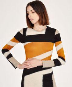 Paloma Mixed Dress