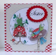 Available for purchase Dress Card, Girl Things, Card Designs, Dimples, Corsets, Handmade Cards, Card Ideas, Chloe, Birthday Cards