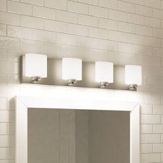 Rogue Decor Company Clean 4 Light Vanity Light
