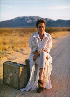 Tatjana Patitz | Photography by Mikael Jansson | For Vogue Magazine UK | May 1993