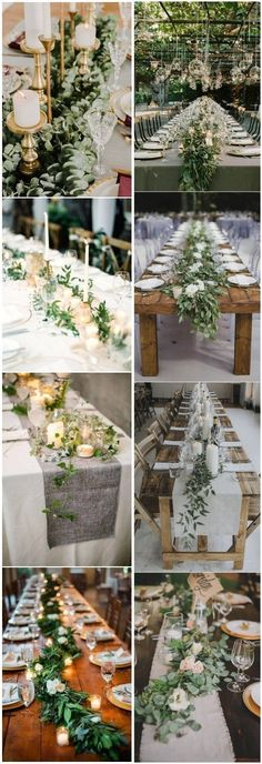 18 Rustic Greenery Wedding Table Decorations You Will Love! wedding tablespaces , 18 Rustic Greenery Wedding Table Decorations You Will Love! 18 Rustic Greenery Wedding Table Decorations You Will Love! Wedding Table Flowers, Wedding Centerpieces, Wedding Colors, Table Wedding, Wedding Rustic, Garden Wedding, Natural Wedding Decor, Wedding Greenery, Bridal Table