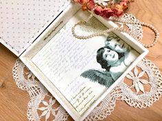 Shabby Chic Boxes, Shabby Chic Crafts, Vintage Shabby Chic, Shabby Chic Furniture, Shabby Look, Vintage Box, Vintage Roses, Etsy Vintage, Jewellery Storage