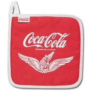 Coca-Cola Pot Holder - Wings Pause and Go Refreshed