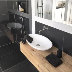 up the bathroom: How to make every size beautiful! Copper Bathroom, Small Bathroom, Farmhouse Remodel, Basement Bedrooms, Roomspiration, Bedroom Accessories, Dining Room Design, Shower Tub, Cool Kitchens