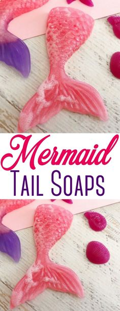 These easy Mermaid Tail Soaps are perfect for small soap favors for kids birthday parties & more! Pool Party Kids, Party Favors For Kids Birthday, Birthday Parties, 5th Birthday, Birthday Ideas, Diy Mermaid Tail, Mermaid Party Favors, Mermaid Crafts, Little Mermaid Parties