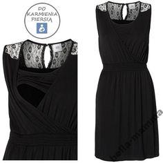 6d1f308d8a MAMA LICIOUS sukienka DO KARMIENIA czarna MAYA  M 119 Maya