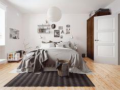 Комната в скандинавском стиле - Галерея 3ddd.ru