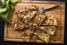 NYT Cooking: Frittata With Kasha, Leeks and Spinach