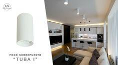 """Tienes disponible en nuestra tienda el FOCO SOBREPUESTO """"TUBA I"""" PARA DICROICO GU10, ideal para complementar iluminaciones generales de tus espacios.  Visita nuestro Showroom y Disfruta del 15% de Descuento."""