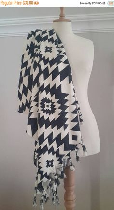 Check out this item in my Etsy shop https://www.etsy.com/listing/384405054/black-friday-tribal-throw-towel-in-black