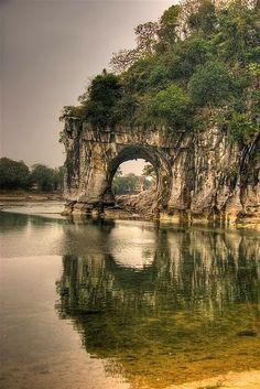 Elephant Trunk Hill, China