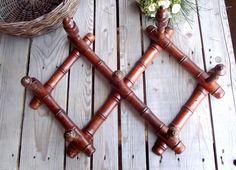 Porte Manteau en Faux Bambou Vintage par MyFrenchBricABrac sur Etsy