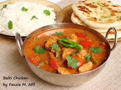 Balti Chicken is one of those dishes that has layer upon layer of flavour, making the meal an incredible experience. This delicious curry goes beautifully with plain boiled rice and/or buttered garlic naans.