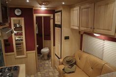 cargo trailer camper conversion | Home Trailer Manufacturers Interior Features Photo Gallery Company ...