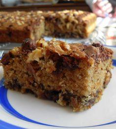 The English Kitchen: Chocolate Chip Oatmeal Cake