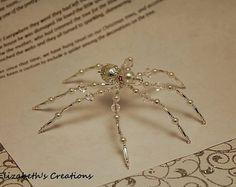 Ornement de Noël Spider avec Noël Spider légende, ornement de Spider, ornement de vacances, décorations de Noël