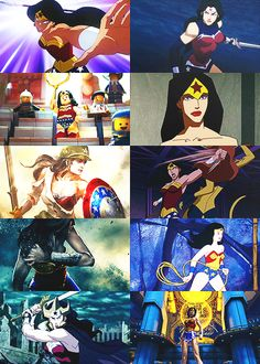 In other media: Wonder Woman
