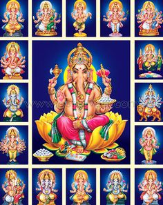 Shodasha Ganapathi