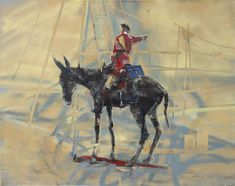 Renewable Energy Donkey, painting by Pascale Chandler | StateoftheART