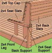 built-in seating area how to