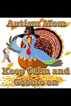 Autism mom turkey
