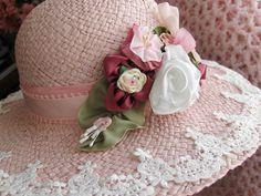 ♔ Lovely hat for tea...