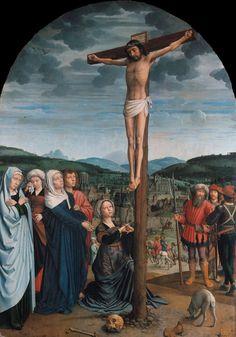 Gerard David - Christ on the Cross. 1515