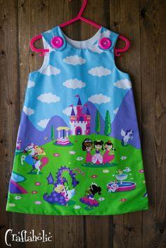 Καινούρια παιδικά φορεματάκια από το Craftaholic - Craftaholic