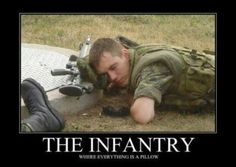Image: The Infantry - Military humor. Military Jokes, Army Humor, Military Life, Army Memes, Gi Joe, Army Infantry, Us Marine Corps, Marine Mom, Army Life