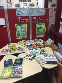 Hollin Primary @HollinPrimary     Year 4, 5 and 6 are ready for Tom Palmer's visit next Friday.  @tompalmerauthor