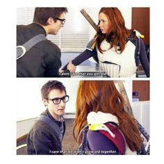 Rory Williams being awesome and romantic