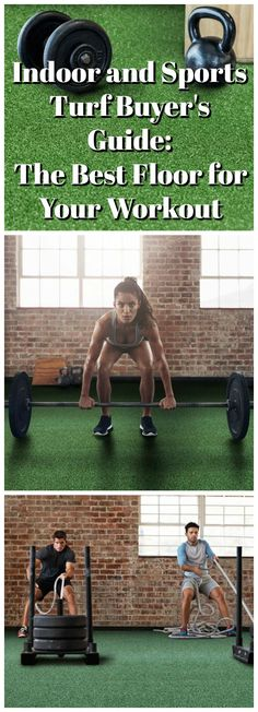 Indoor and Sports Turf Buyer's Guide: The Best Floor for Your Workout. Tired of boring reps and sets? Install sports turf to change your workout routine! Jump Rope Workout, Ab Workout At Home, At Home Workouts, Home Gym Garage, At Home Gym, Dream Garage, Lifting Workouts, Fun Workouts, Sports Turf