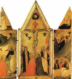 Andrea di Buonaiuto da Firenze - Altarolo - c. 1350 - Collezione privata