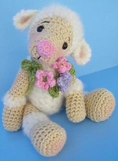Lamb Crochet Pattern by Teri Crews - Animal and Critters Patterns