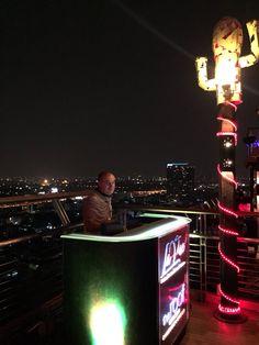 SkyBar - 25 floor - the roof Bangkok Sky Bar Bangkok, Asia, Tours, Flooring, Wood Flooring, Floor
