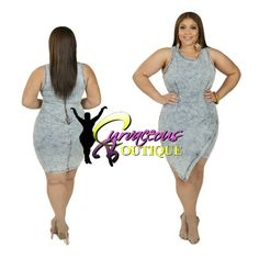 ● □ NEW ARRIVAL ● □   ON POINT DENIM DRESS   ( MODEL WEARING 1X )   SIZE  1X  2X  3X     WWW.CURVACEOUSBOUTIQUE.COM & IN STORE    { { VISIT THE WEBSITE FOR ALL DETAILS & PRICE } }