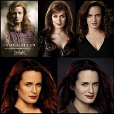 "Esme From ""Twilight"" to ""Breaking Dawn Part 2"" <3"