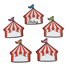 Use for names dates reminders and more Easily wipes clean Vinyl Assorted 334 OTC Circus Theme Classroom, Classroom Board, New Classroom, Preschool Classroom, Classroom Decor, Kindergarten, Disney Classroom, Preschool Circus, Circus Crafts