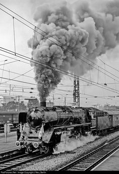 RailPictures.Net Photo: 01 173 Deutsche Bundesbahn Steam 4-6-2 at München, Germany by J Neu, Berlin