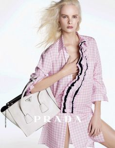 Vanessa Axente & Irene Hiemstra by Steven Meisel for Prada Campaign Pre-Fall 2013