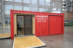 Shelley Worrell, carribbeing, carribbeing shipping container, cargotecture, container house, container home, shipping container architecture, carribean culture nyc, nyc carribean, ferra designs