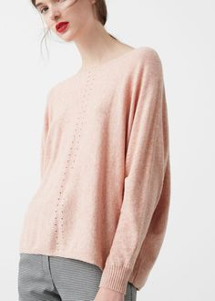 Cotton sweater - Cardigans and sweaters for Woman | MANGO USA