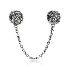 PANDORA | Safety Chain Bouquet w/14K and Clip